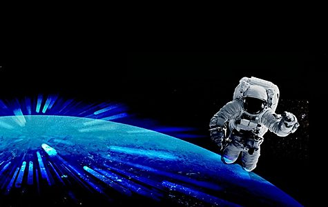 Listing image earth astronaut