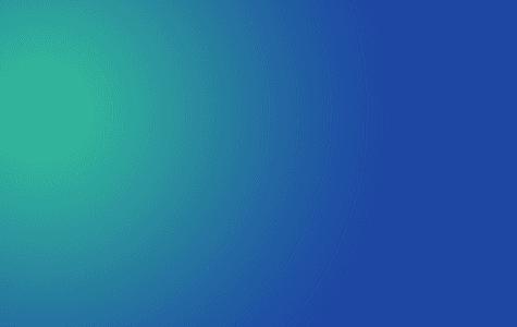 Green blue highlight colorblock