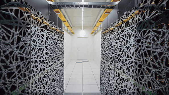Interior data center