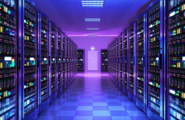데이터센터 내부