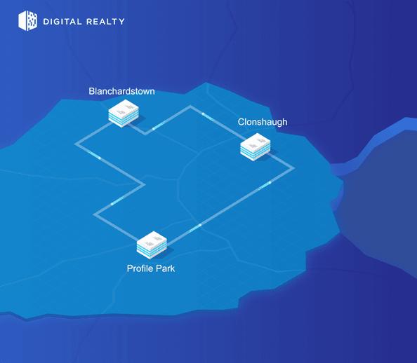 Dublin connectivity map